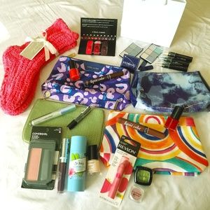 Large Bundle of Makeup & Bags NWT